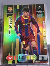 MESSI SUPER STRIKES Panini Adrenalyn CL 2010-2011