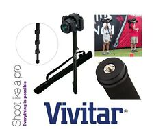 "Vivitar 67"" Photo/Video Monopod With Case For Canon EOS Rebel 450D 1000D"
