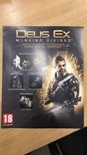 Deus Ex Mankind Divided Xbox one extra DLC solo il codice per missione e covert