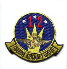 MAG-12 MARINE AIR GROUP TWELVE USMC MARINE CORPS Squadron Jacket Patch