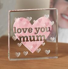 Love You Mum Spaceform Token Gift ideas for Her & Mother For Christmas 0964