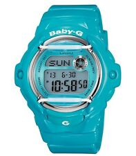 Casio Baby-G * BG169R-2B Glossy Solid Teal Blue Women Ivanandsophia COD PayPal
