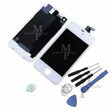iPhone 4S Replacement LCD Touch Screen Digitizer Assembly + Back Glass, White