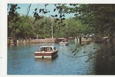 Songo Locks Naples Maine Oxford Canal Route USA Old Postcard  248a