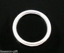 200 Gift PCs SP Soldered Closed Jump Rings 10x1mm Findings