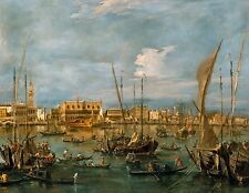 Venice from the Bacino di San Marco by Francesco Guardi Old Masters 8x10 Print
