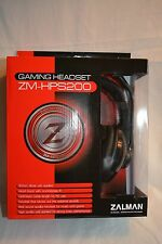 Zalman HPS200 Wired 3.5mm Gaming Headset w/ Microphone
