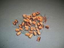 Lot of 100 Vishay Sprague 503D Capacitor 47 uF 16 V - Craft Jewelry - New