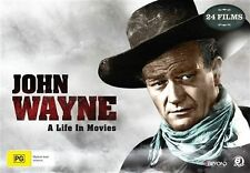 John Wayne A Life in Movies Collector's Gift DVD Box Set 24 movies Limited ed R4