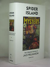 1st,w author signature,Collected Stories of Jack Williamson 4:Spider Island(2002