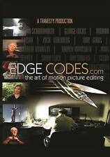 Edge Codes.com: The Art of Motion Picture Editing (DVD, 2016)