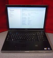 Dell Precision M6500 Laptop | i7 X 940-XM CPU | No HD | Win 7 Pro COA | T#6872