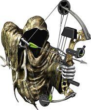 DEER BUCK GRIM REAPER BOW RIFLE GUN SEASON HUNTING DECAL STICKER