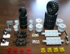 NEW LEGO Tires Lot Wheels Axles Specialty Parts (4x4 Off Road Large Truck Farm)