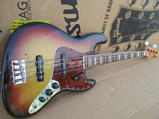 1971 Fender Jazz Bass EE. UU. -- rare Fat Neck Profile