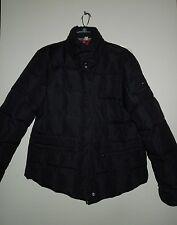 NWOT Tommy Hilfiger Black Down Feather Filled Puffer Jacket w Concealed Hood XL