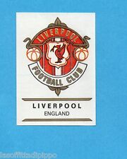 FOOTBALL CLUBS-PANINI 1975-Figurina n.95- LIVERPOOL -INGHILTERRA-SCUDETTO-Rec