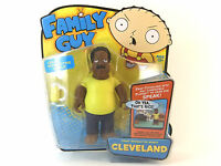 """FAMILY GUY CLEVELAND INTERACTIVE 6"""" FIGURE BRAND NEW GREAT GIFT"""