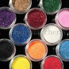 16PCS Mixed Color Glitter Powder Makeup Eyeshadow Eye Shadow Cosmetics Salon Set
