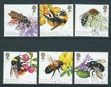 GREAT BRITAIN 2015 THE HONEYBEE SET OF 6 FINE USED