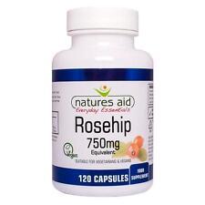 Rosehip 750mg (Joint health) Vegan Capsules FREE UK POST - Natures Aid