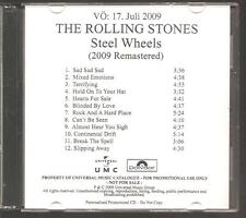 "ROLLING STONES ""Steel Wheels"" German Acetate Promo CD RAR"
