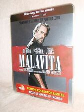 The Family Malavita SteelBook [Blu-ray: B, DVD: 2] (Luc Besson) Robert De Niro