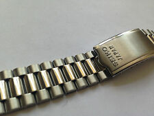 NEW SEIKO GENUINE STAINLESS STEEL GENTS STRAP,19 MM--( SS-11 )