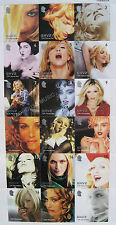 MADONNA 18 x UK Ghv2 PROMO Only POSTAGE STAMPS - SHEET rare Official WEA MINT