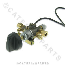 GV07 8mm NAT LP LPG GAS TAP VALVE WITH BUILT IN SPARK IGNITOR / BURNER IGNITION