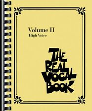 The Real Vocal Book Volume II Sheet Music High Voice Real Book Fake Bo 000240231