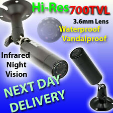 MINI BULLET INFRARED CCTV CAMERA METAL NIGHT VISION SONY 700TVL! DISCREET TAXI
