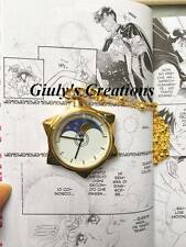 Collana SAILOR MOON Star Locket Tuxedo Kamen manga orologio stella milord bunny