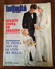 R14   RIVISTA INTIMITA'  N. 1307 ANNO 1971 - QUANTO COSTA UN CORREDO