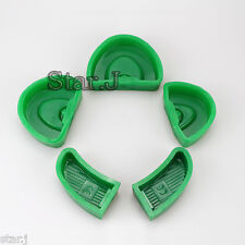 5pcs Dental Lab Silicone Plaster Model Former Base Molds NEW