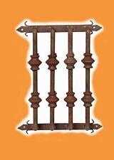 Rustic Door Hardware-Speakeasy-Window Grate-#1-12x15-Wrought Iron-Handmade