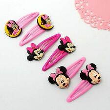 3 Pair Cartoon Mickey Hair Clips Hairpins Hair Accessories For Kids Baby Girls