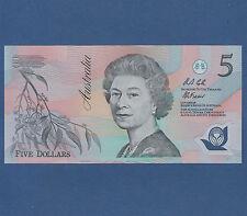 AUSTRALIEN / AUSTRALIA 5 Dollars (1992) Polymer Serie AA UNC P. 50 a