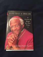 God Has a Dream by Desmond Tutu SIGNED AND AUTHENTICATED