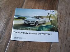 Catalogue / Brochure BMW Serie 4 / 4 Series Convertible 2013 //