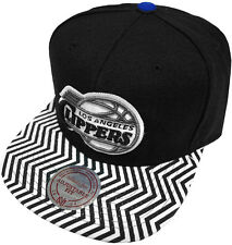 Mitchell & Ness NBA Los Angeles Clippers Zig Zag EU134 Snapback Caps Basecap New