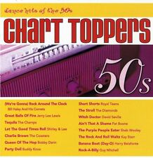 50's Dance Hits - Chart Toppers (1998, CD NIEUW) Lewis/Champs/Coasters/Darin