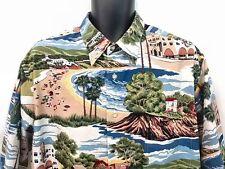 Reyn Spooner Laguna Beach Hawaiian Aloha Shirt Sz XL