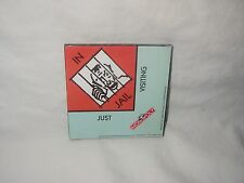 MONOPOLY HASBRO MAGNET IN JAIL  DESIGN 1997 MADE IN USA 3 INCH SQUARE