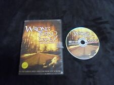 "USED DVD MOVIES ""Wrong Turn 2"" Dead End"" Unrated  (G)"