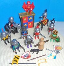 Playmobil lot Castle KNIGHTS, HORSES and some Accessories