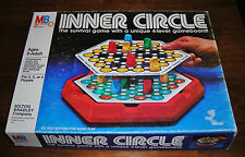 INNER CIRCLE vintage family 4 Level board game Strategy Survival M Bradley 1981