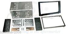 CT23SA03 SAAB 9-3 2006 to 2014 BLACK DOUBLE DIN FASCIA FACIA FITTING KIT