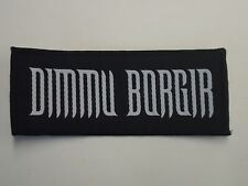 DIMMU BORGIR BLACK METAL WOVEN PATCH