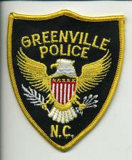 Greenville NC Police Dept Uniform Patch (4006)